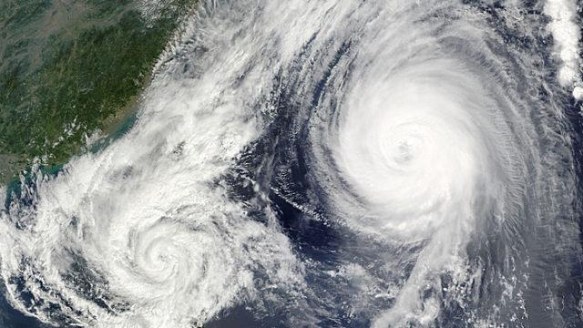 台風 ハリケーン サイクロン トルネード 違い